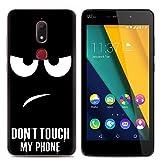 Easbuy Handy Hülle Soft Silikon Hülle Etui Tasche für Wiko View Prime Smartphone Cover Handytasche Handyhülle Schutzhülle