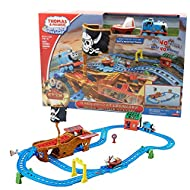 Thomas and Friends Trackmaster Shipwreck Adventure Motorized Railway Train Set Games for Kids Educat...