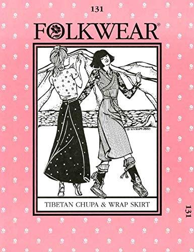 Schnittmuster tibetischer Chupa Rock und Kleid
