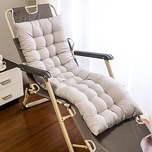 Pteng Cuscino per sedia da esterno Sostituzione del cuscino del lettino prendisole, cuscino per lettino solare, cuscino per sedia spesso per esterno, giardino, patio, spiaggia, sedia con schi