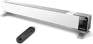 LHY-Calefactores cerámicos Calentador De Radiador De Convección De 47 Pulgadas con Pantalla Digital Control Termostático Protección De Corte Térmico E Interruptor De Volcado para Interiores