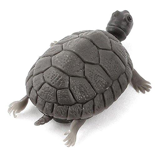 Greenlans Aquarium Fisch Tank Unterwasser Landschaftsbau Harz Künstliche Schildkröte Turtle Tier Dekorationen lebensechte 3D künstliche Fake Little Turtle kein Füttern Ornaments Zubehör