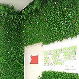 Césped Artificial Falso césped Artificial Plantas Micro Paisaje simulación Creativa decoración de Pared para hogar Boda balcón, Verde, B