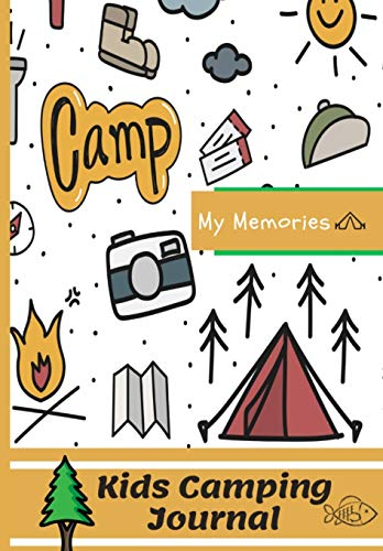 Kids Camping Journal: The Perfect Kids Camping Journal/Diary for Travel (2)