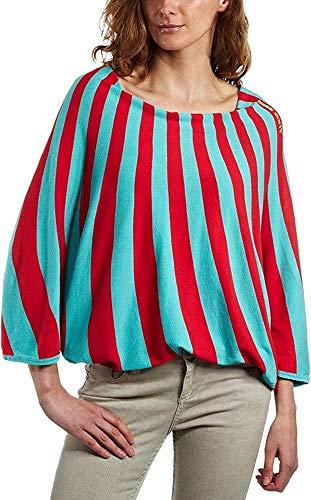 Miss Sixty Camiseta Larha Grafic Rojo/Azul Claro XS