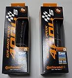 Continental GP4000 S - Cubierta para rueda de bicicleta (622 x 23 mm, carretera), color negro