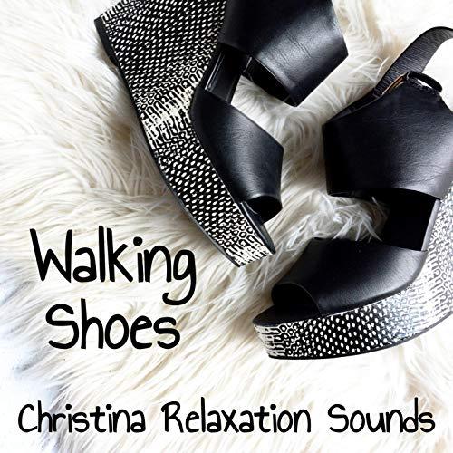 Walking in Wedge Sneakers