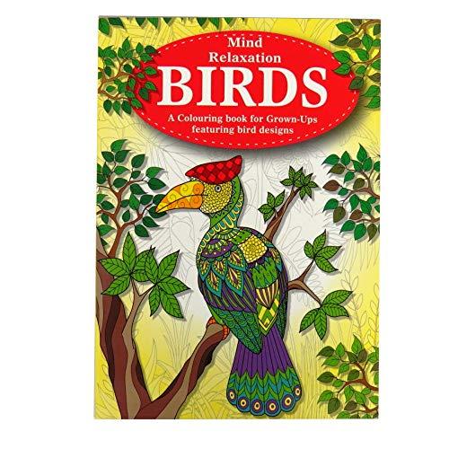 Anti-stress tekenboek met dieren, voor ontspanning en kleurtherapie voor volwassenen.