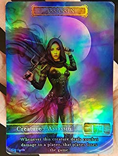 GnD Cards 1x Assassin #5 FOIL Laminated Custom Altered Tokens (for Vraska, The Unseen)