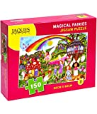 Jaques of London Magical Fairies Jigsaw Puzzle 150 Piezas - Rompecabezas Adecuado para 4 - 5 - 6 - 7 años 220 añ