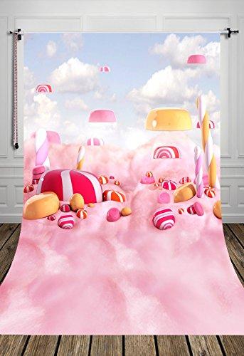 (SP) NIVIUS Photo 150x300cm Delgada Fondos de Algodón Poliéster para fotografía los niños del bebé Lindo de Fondo la fotografía de Dibujos Animados Fondos D-8024
