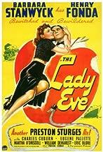 The Lady Eve Movie Poster (27 x 40 Inches - 69cm x 102cm) (1941) -(Barbara Stanwyck)(Henry Fonda)(Charles Coburn)(Eugene Pallette)