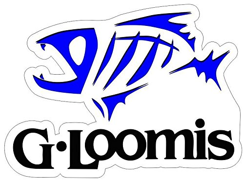 JB Large 15' Blue G Loomis Carpet Graphic Decal Stickers for BASS Fishing