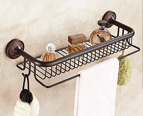 Maifeini _ de cobre de cobre para ducha y ducha, set de ducha de cristal de ducha Wasserhahn, F85-A1 (acero inoxidable)