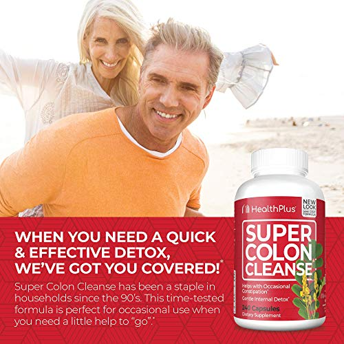 Super Colon Cleanse, 500mg,capsules,240 Count (Pack of 1)