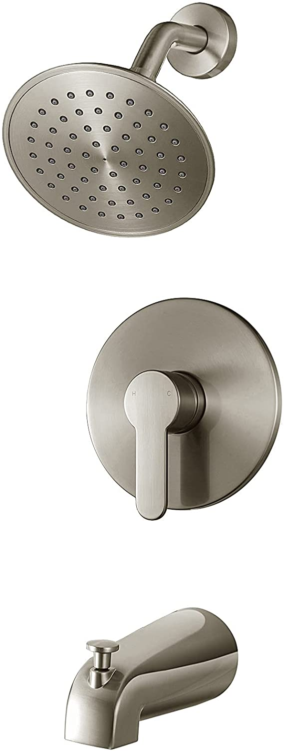 Shower Faucet Set with Tub Valve an WRISIN Included Max 82% Cheap mail order specialty store OFF Spout