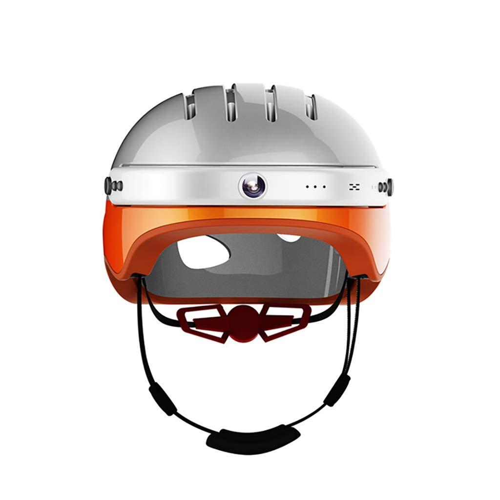 Casco con Cámara Inteligente para Bicicleta De Montaña Altavoces ...