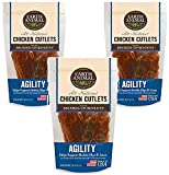 Earth Animal Agility Chicken Cutlets Treats 8oz (3 Pack)