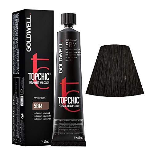 Goldwell Topchic 5BM matt braun mittel 1 x 60 ml Haarfarbe Permanent Hair Color GW
