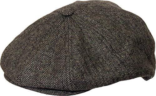 Westeng M/änner M/ütze Hut Newsboy M/ütze Gatsby Ivy M/ütze Flache Newsboy Caps f/ür Herbst und Winter 56-58cm