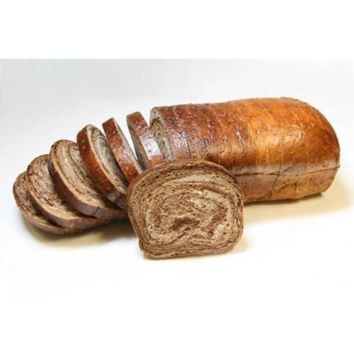 Rotellas Sliced Marbled Rye Bread, 5/8 inch -- 6 per case.