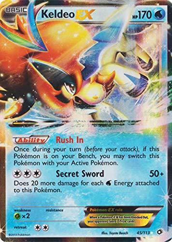 Pokemon - Keldeo ex (45/113) - Lege…