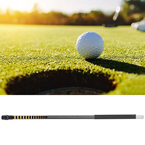 Weikeya Adecuado palo de práctica de swing de golf, pintura de metal de goma y plástico para principiantes profesionales golfistas