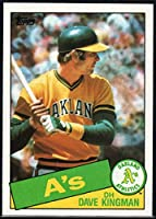 1985 Topps Baseball #730 Dave Kingman Oakland Athletics Official MLB Trading Card (stock photos used) Near Mint or better condition