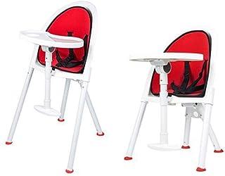 Barstolar För Skrivbordstolar Enkel Hopfällbar Barnstol, Barnmatstol, Familj Och Resefällbar Barnstol (Färg: Röd) (Färg: Röd)