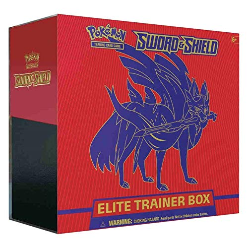 Pokemon TCG: Sword & Shield Zacian Elite Trainer Box