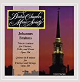 Brahms: Trio in A Minor for Clarinet, Cello and Piano , Op.114 / Quintet in B minor for Clarinet and Strings, Op.115