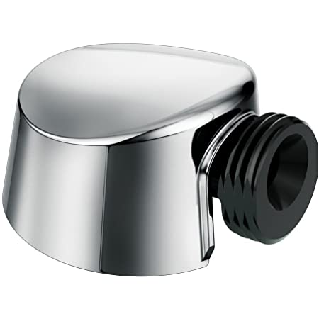 Moen A725 Round Drop Ell Handheld Shower Wall Connector, Chrome