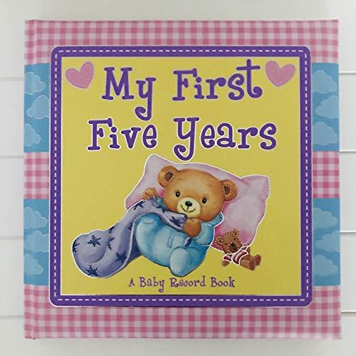 Journal Album Grandes Etapes De La Vie De Bébé Les 5 Premières Années - My First Five Year Diary