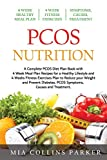 PCOS Nutrition: A Complete PCOS Diet Book with 4 Week Meal Plan and 4 Week Fitness Exercise Plan to Reduce Weight and Prevent Diabetes. PCOS Causes, Symptoms and Holistic Treatments.