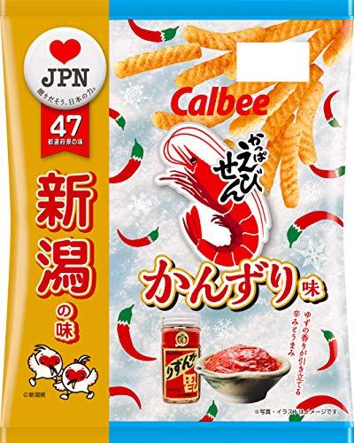 カルビー かっぱえびせん かんずり味 65g ×12袋