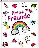 Freundebuch - Funny Patches - Meine Freunde: mit Wendepailletten-Patch