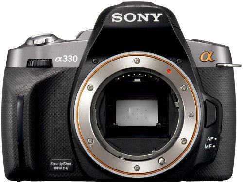 ソニー SONY デジタル一眼レフカメラ α330 (本体単品) ブラック DSLRA330