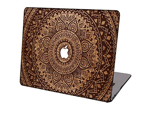 Laptop Case for MacBook Air 13 inch Model A1369/A466,Neo-wows Plastic Ultra Slim Light Hard Shell Cover Compatible MacBook Air 13 Inch No Touch ID,Wood grain 5