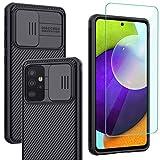Yohii Cover per Samsung Galaxy A52 4G&5G / A52s 5G e Pellicola Protettiva Vetro Temperato,...