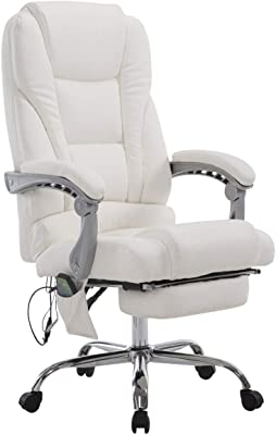silla oficina blanca masaje