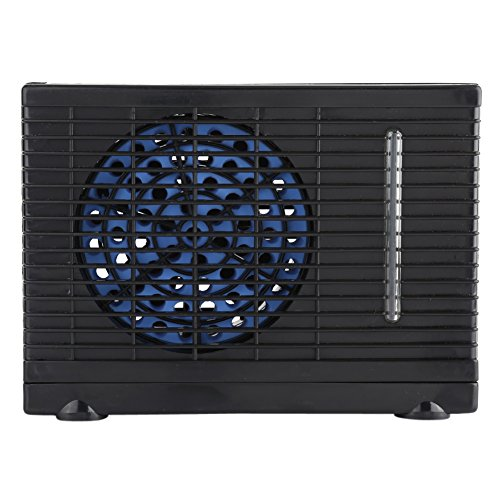Portable 12V Mini Air Conditioner Fan Evaporative Water Cooler Cooling Fan for Car Truck Home