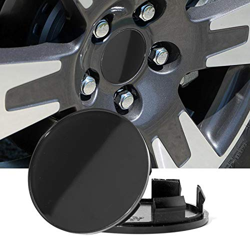 Rhinotuning 70mm(2.76in)/64mm(2.52in) Wheel Center Hub Caps Black Base Set of 4 for Odyssey 2005-2017 Ridgeline 2006-2014#4732-S6M-Z00 08W17-SDB-1M00-A4