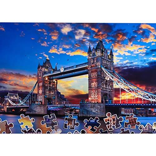 CofunKool 1000 Piezas Puzzle para Adultos (Tower Bridge)