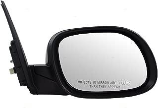 Passengers Power Side View Mirror w/Cover Replacement for Kia Soul 87620 B2500 KI1321194