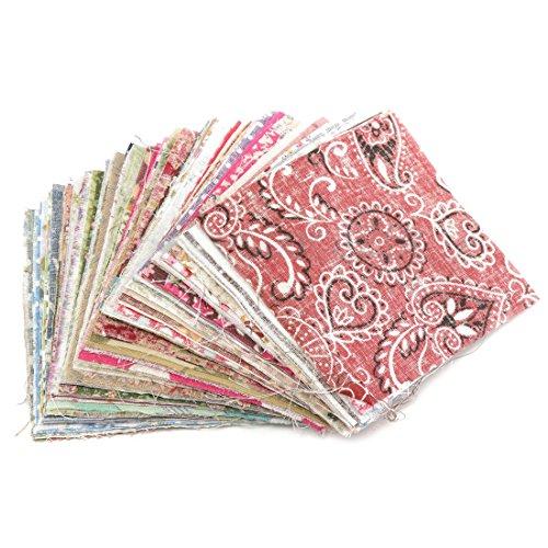 Andifany 100Pz Panno Quadrato della Rappezzatura del Tessuto di Cotone di 10X10Cm per Il Cucito del Mestiere di DIY