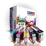 Pack 10 Canon compatible CLI-8 & PGI-5 Supérieure Qualité cartouches d'encre pour Canon PIXMA MP500 / MP510 / MP520 / MP530 /...