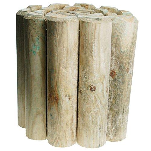 Kingfisher 30cm (12in) Log Roll Garden Edging