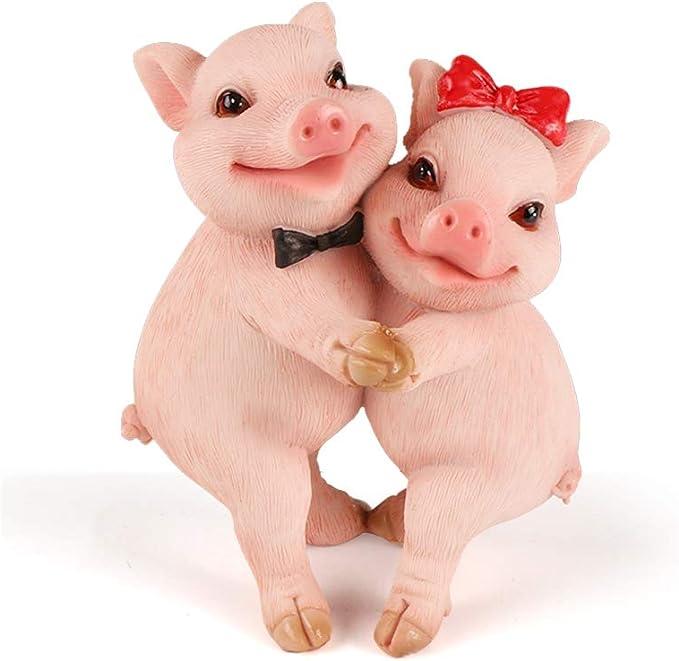 Loves Me # 14205 Daisy Flowers Piggin Pig Collectors Figurine