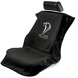 Seat Armour SA100COBB Black 'Ford Mustang Cobra' Seat Protector Towel
