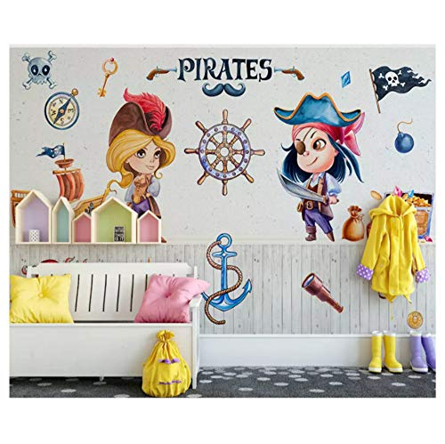 Vinilo infantil de piratas